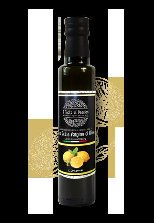 Olijfolie met citroen smaak