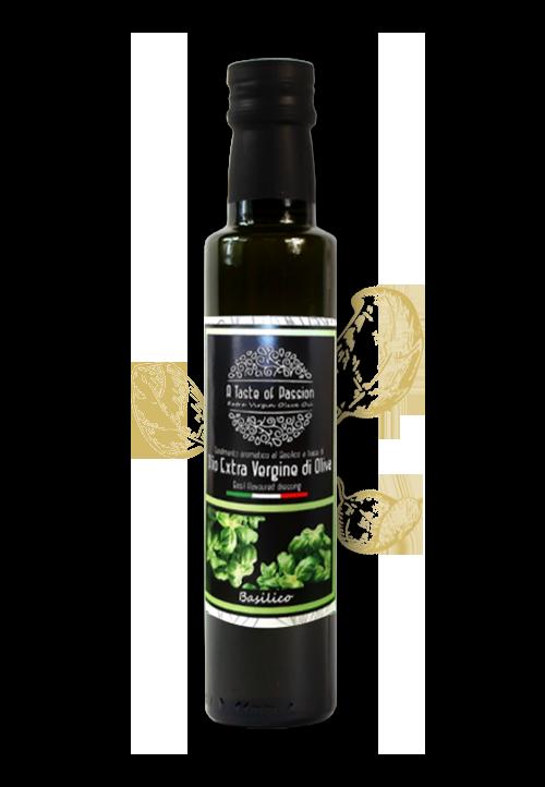 Olijfolie met basilicum smaak