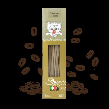 Pasta cacao Fettuccine al cacao