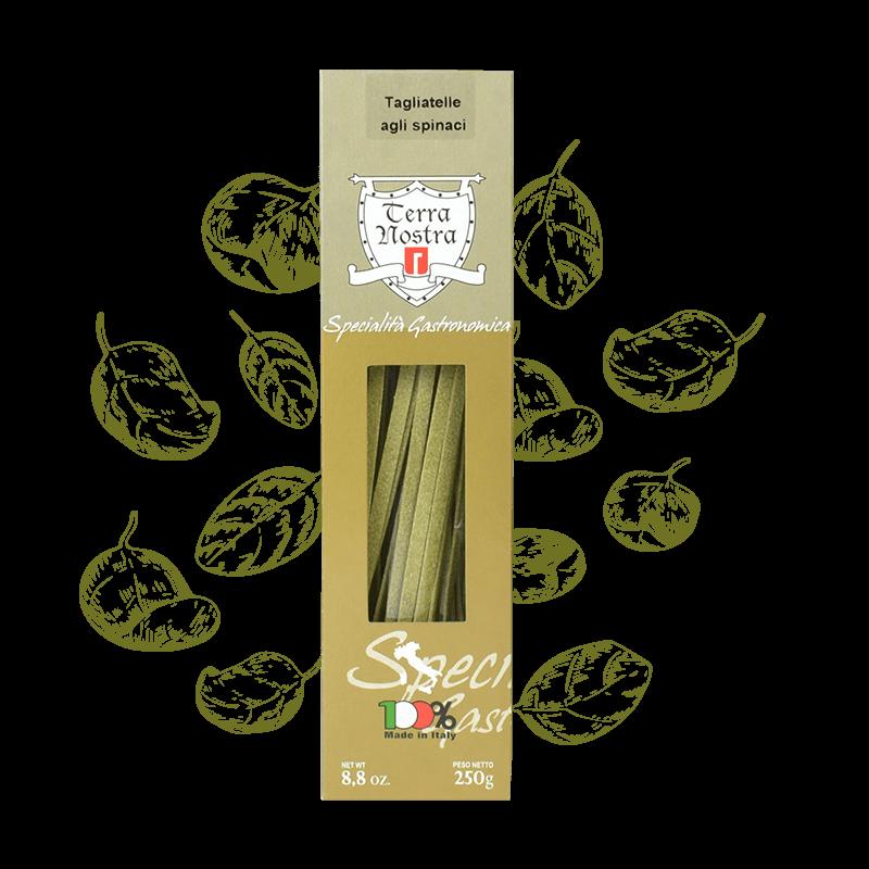 Tagliatelle agli spinaci - pasta spinazie