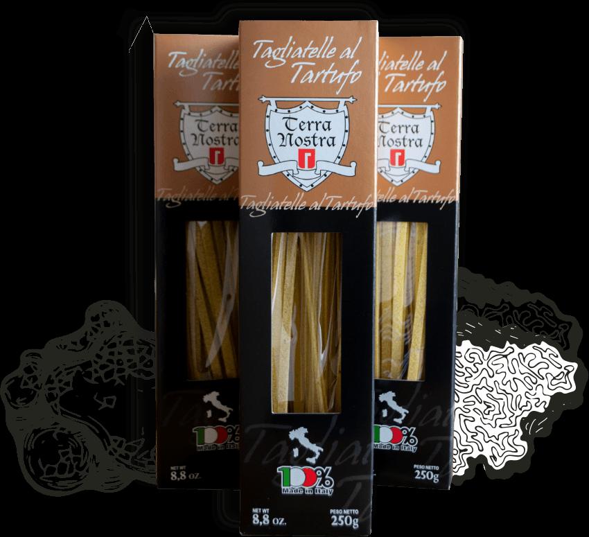 Tagliatelle al tartufo, truffel pasta