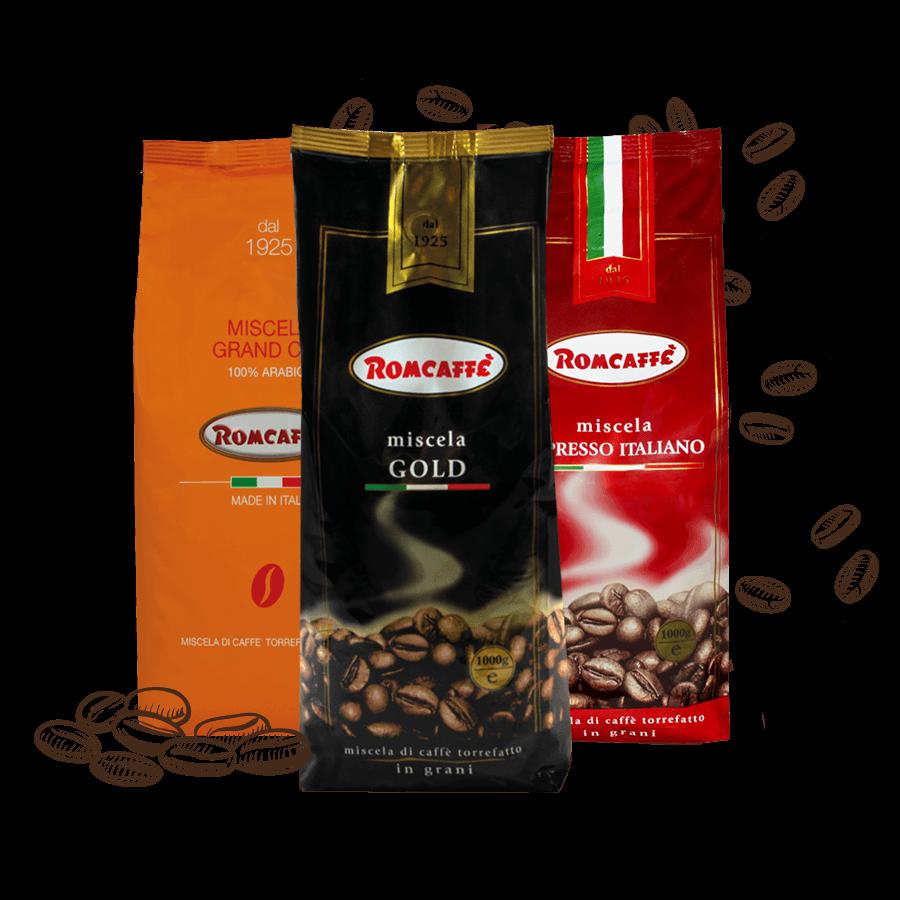 Romcaffe koffiepakket